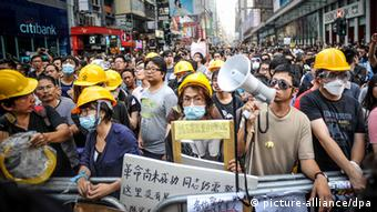 Hongkong Occupy Central Demonstration 22.10.2014