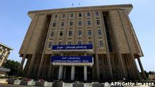 A general view of the Kurdish parliament building on April 29, 2014, in the northern Iraqi Kurdish city of Arbil. AFP PHOTO/SAFIN HAMED (Photo credit should read SAFIN HAMED/AFP/Getty Images)