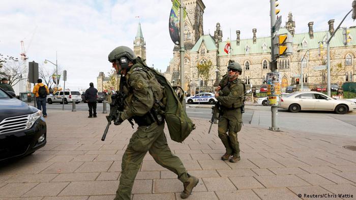 Kanada Ottawa Anschlag Parlament Polizei Spezialeinheit 22.10.2014