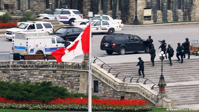 Anschlag auf Parlament in Ottawa (Foto: Reuters)
