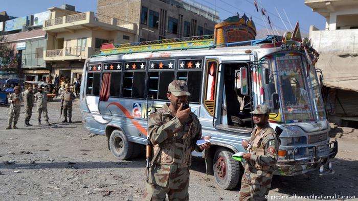 Anschlag auf Schiiten im Bus bei Quetta in Pakistan 23.10.2014