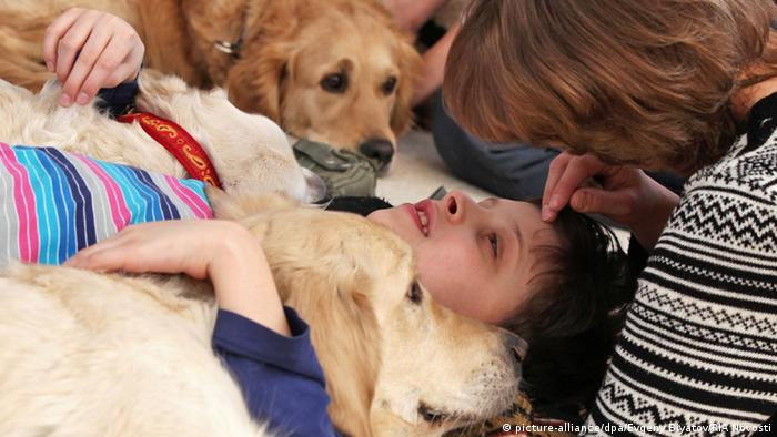 Hunde-Therapie in Russland