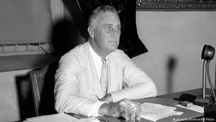 Presidente americano Roosevelt