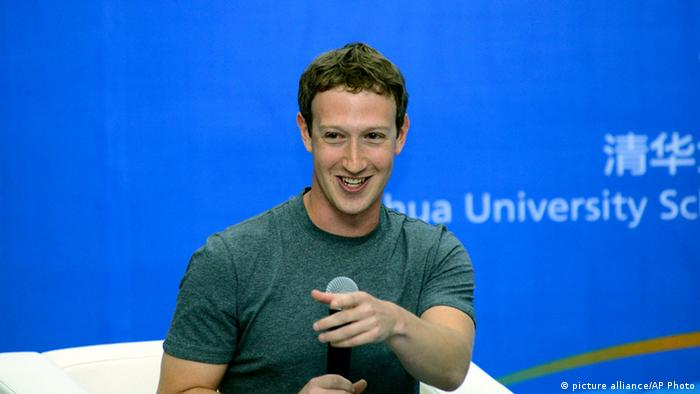 Facebook Mark Zuckerberg in China