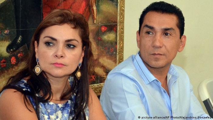 Jose Luis Abarca and Ehefrau Maria de los Angeles Pineda