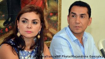 Jose Luis Abarca, Bürgermeister von Iguala, mit Ehefrau Maria de los Angeles Pineda Villa