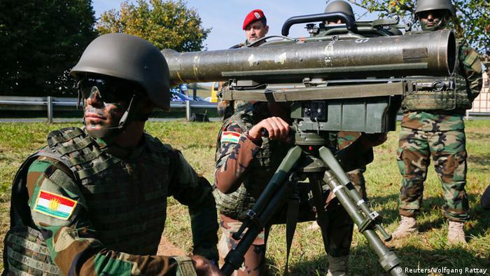 Ausbildung kurdischer Soldaten in Hammelburg 02.10.2014