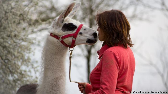 EINSCHRÄNKUNG Bildergalerie Tiertherapie