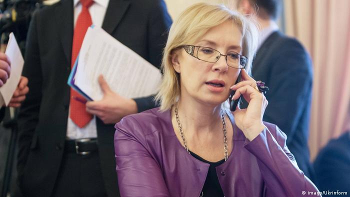 Людмила Денісова (на фото) поки не змогла зустрітися з Миколою Карпюком