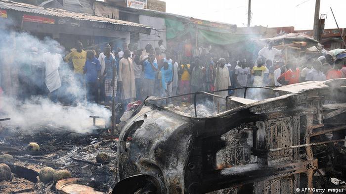 Anschlag in Maiduguri Nigeria Archiv Juli 2014