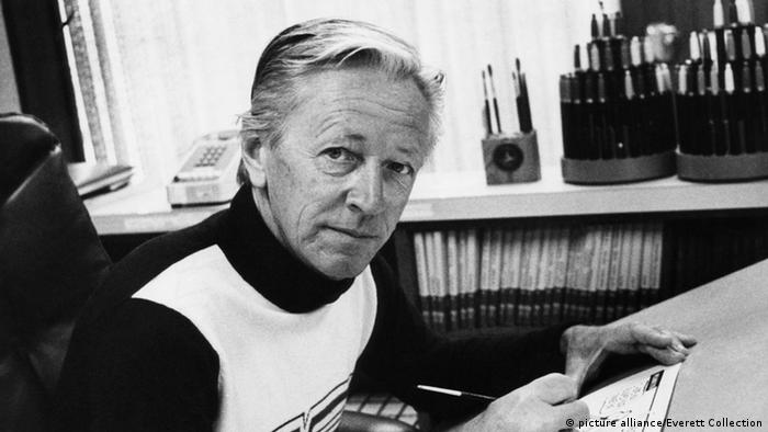 Charles M. Schulz im Jahr 1975 Foto: picture alliance/Everett Collection