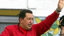 Wahlen in Venezuela Hugo Chavez