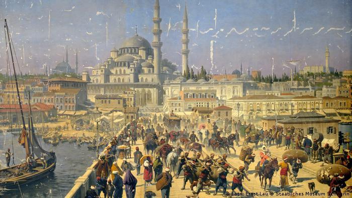 Картина с панорамой Константинополя, которую агент Ли хотел получить обратно