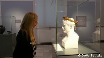 Бюст Наполеона на выставке