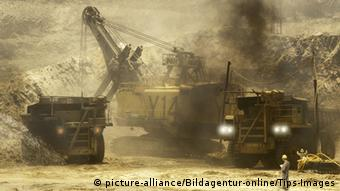 Copper mine in Zambia