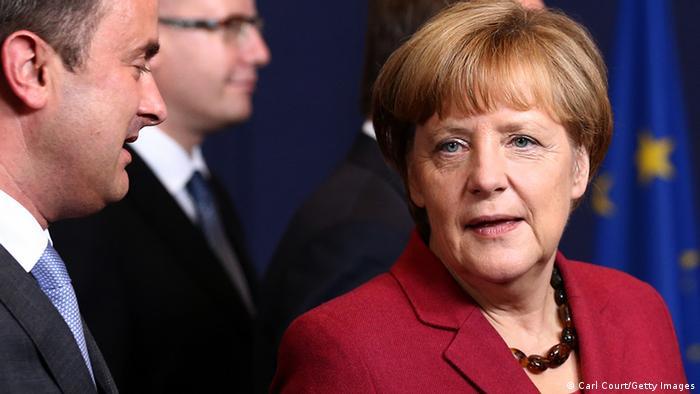 Ангела Меркель на саммите ЕС