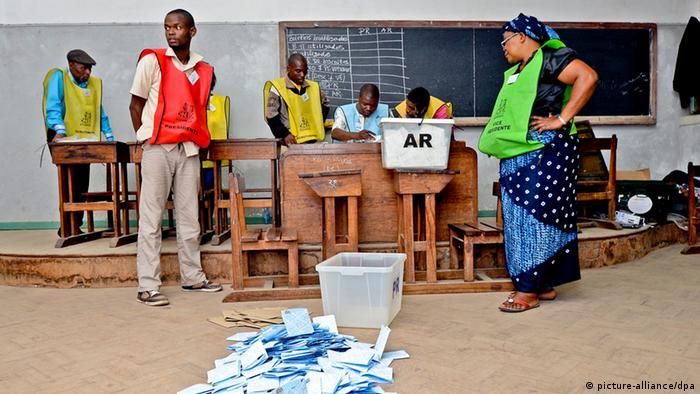 Contagem dos votos