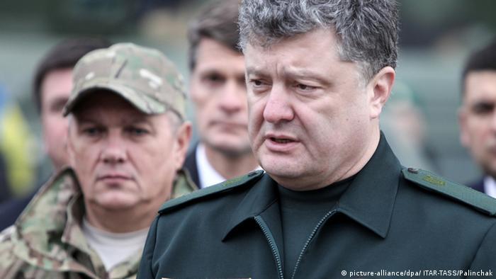 Петро Порошенко сподівається на технічну військову допомогу Заходу