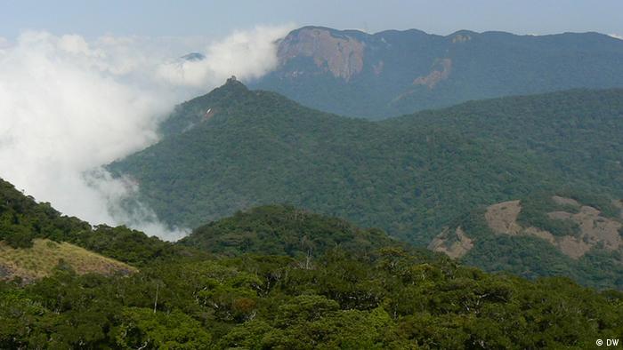Berglandschaft des Mount Mabu