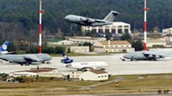 US air force base at Ramstein