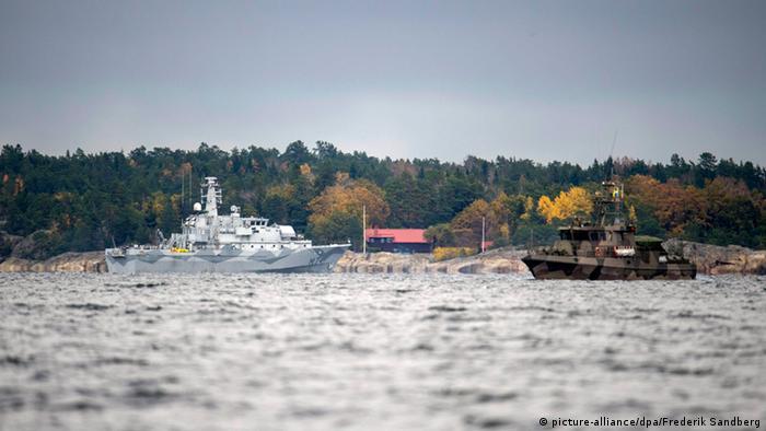 Операция шведского флота по поиску российской подлодки