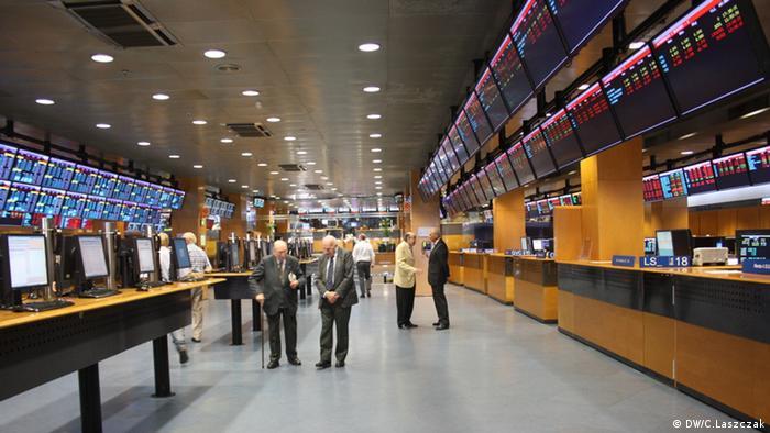 Börse in Barcelona (Foto: DW)