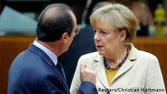 Merkel and Hollande