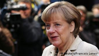 Angela Merkel in Brüssel (Foto: Reuters)