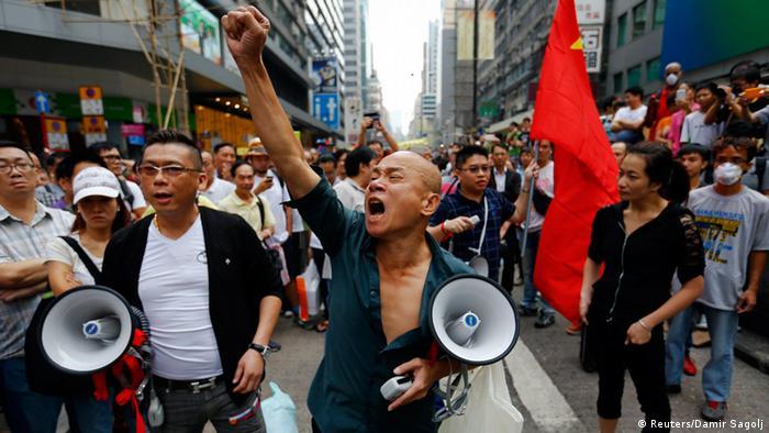 Hongkong Proteste 24.10.2014