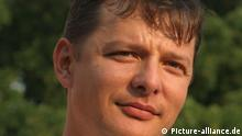 ITAR-TASS: Pictured in this file image dated 11 May, 2012 is Oleh Lyashko, leader of the namesake Radical Party. Lyashko is currently a candidate in Ukraine's upcoming presidential election. (Photo ITAR-TASS / Maxim Nikitin