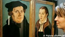 Cranach zeigt Luther Ausstellung in Weimar
