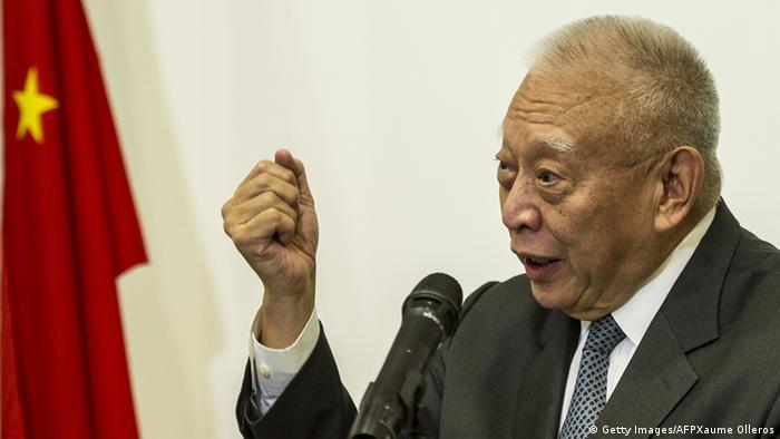 Ehemaliger Regierungschef Tung Chee-hwa (Getty Images/AFPXaume Olleros)