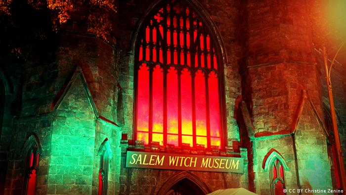 Bildergalerie Halloween Salem Witch Museum