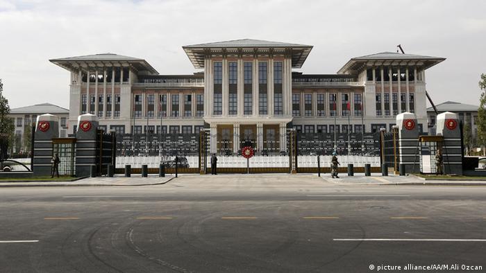 Der neue Präsidentenpalast in Ankara