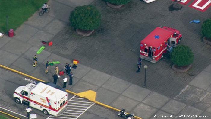 USA Marysville Schießerei an High School 24.10.2014