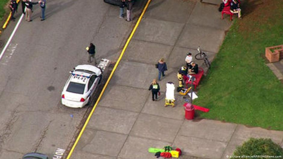 Dos muertos y cuatro heridos en tiroteo en escuela de EE.UU. | DW | 24.10.2014