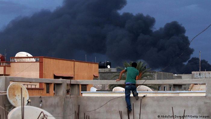 Gefechte in Bengasi Libyen 22.10.2014