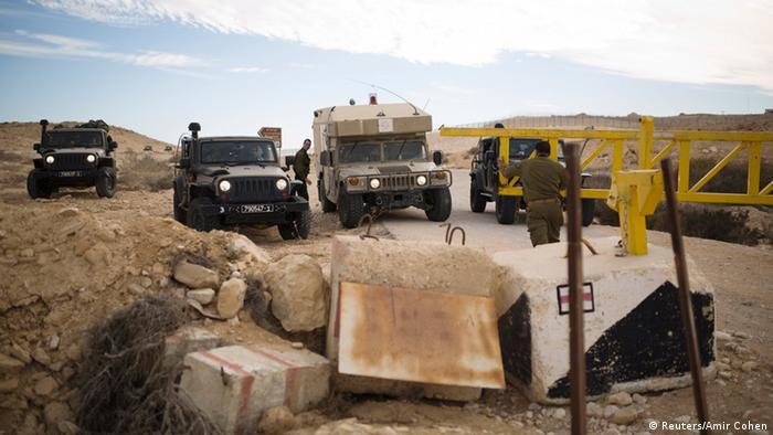 Konflikte an der ägyptischen Grenze zu Israel (Reuters/Amir Cohen)
