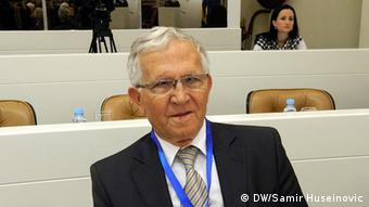 Sarajevo Bosnien - EU Integration Fachkonferenz Kasim Trnka (DW/Samir Huseinovic)