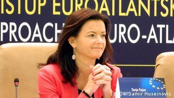 Sarajevo Bosnien - EU Integration Fachkonferenz Tanja Fajon