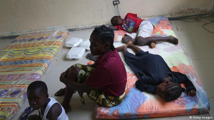 Ebola-Patienten in Liberia (Foto: Getty Images)