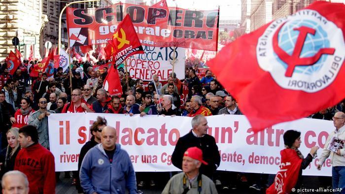 Demonstration in Rome