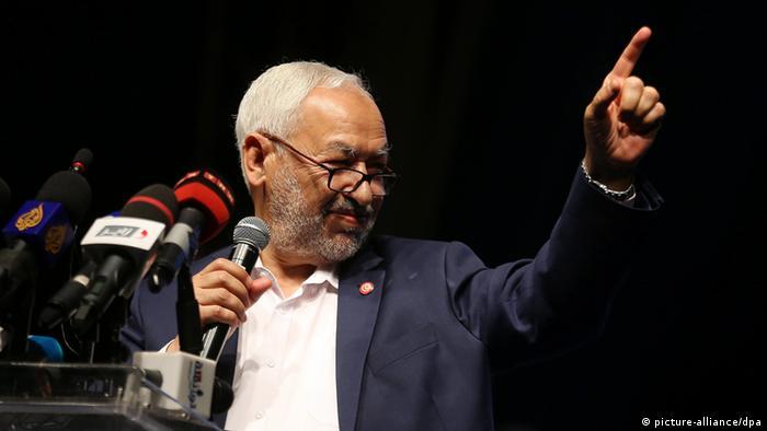 Wahlen in Tunesien Rachid Ghannouchi (picture-alliance/dpa)