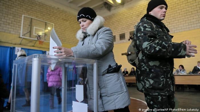 Voters in Ukraine26.10.2014