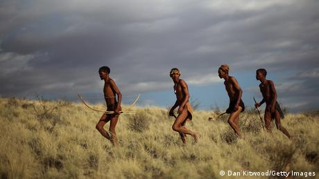 A group of San men in South Africa (Dan Kitwood/Getty Images)