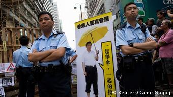 Hongkong Proteste 26.10.2014