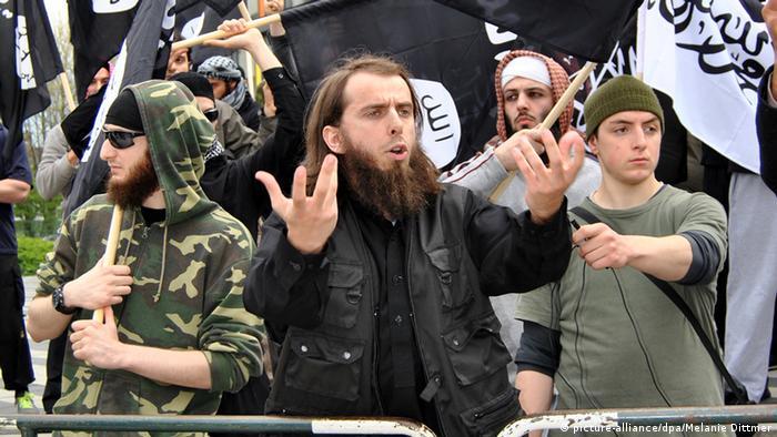 Islamists in Solingen, western Germany