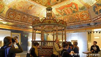 В одном из залов Музея истории польских евреев