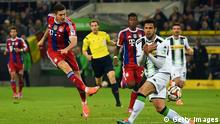 Fußball Bundesliga Borussia Mönchengladbach vs. FC Bayern München 26.10.2014