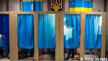 Symbolbild Ukraine Wahl